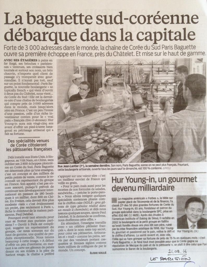 20140821_Le_Parisien_La_baguette_sud_coreenne_debarque_dans_la_capitale